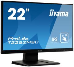 iiyama ProLite 54,6cm (21,5), Touchscreen, Full HD, schwarz